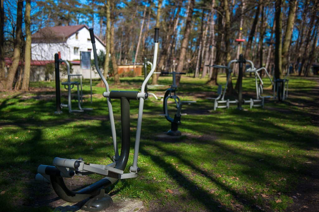 siłownia zewnętrzna w Mielnie